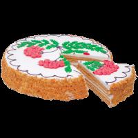 """Торт """"Медовый с суфле"""""""